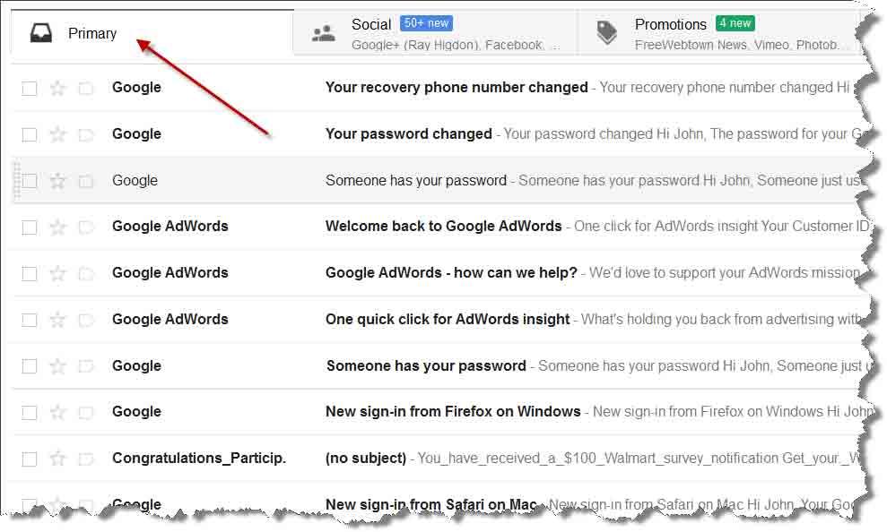 Whitelist Email Instructions
