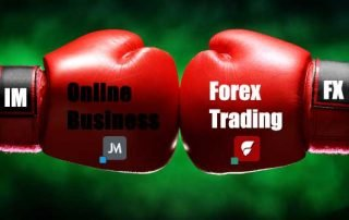Forex Trading versus Online Business